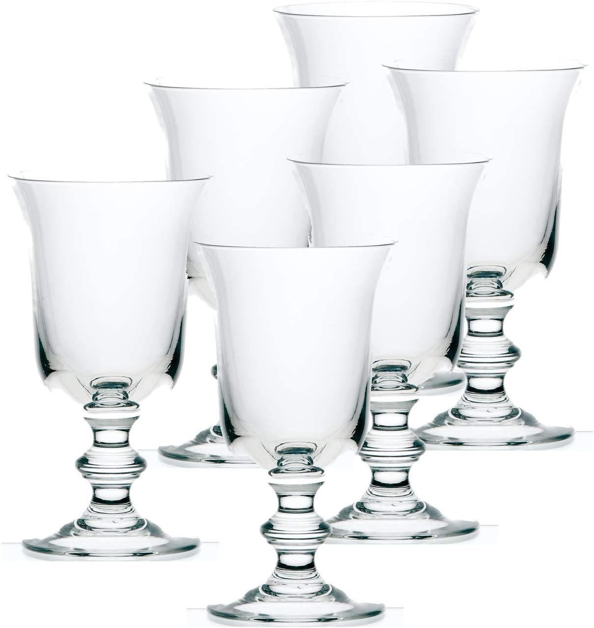 La Rochere Set Of 6, 13-ounce Amitie Large Stemmed Wine Glasses