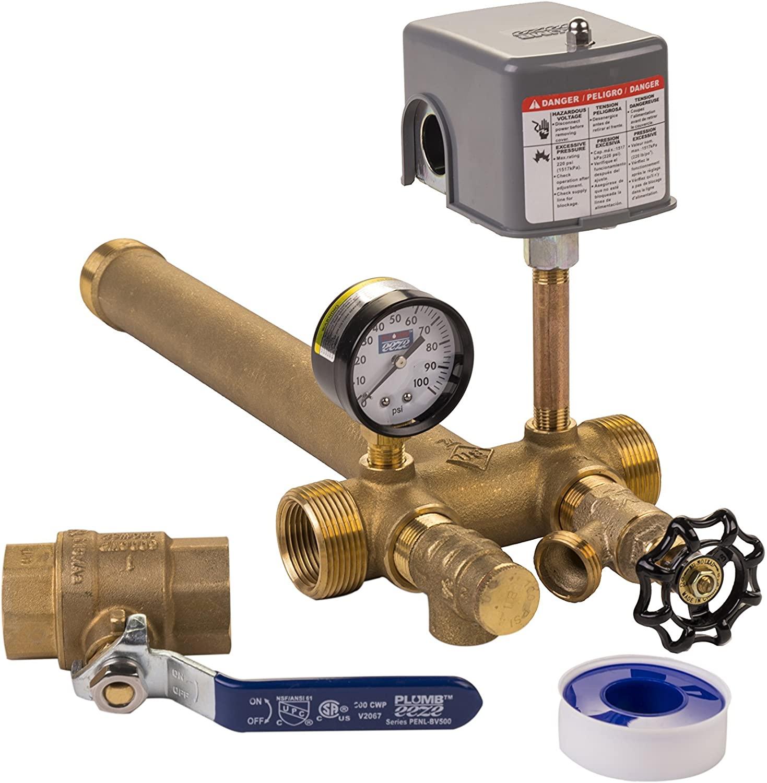 Plumb eeze Pressure Tank Installation Kit with 1