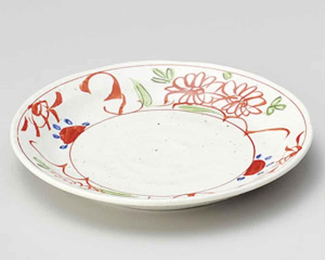 Old Akae Kobiki 5.4inch Small Plate White porcelain Made in Japan