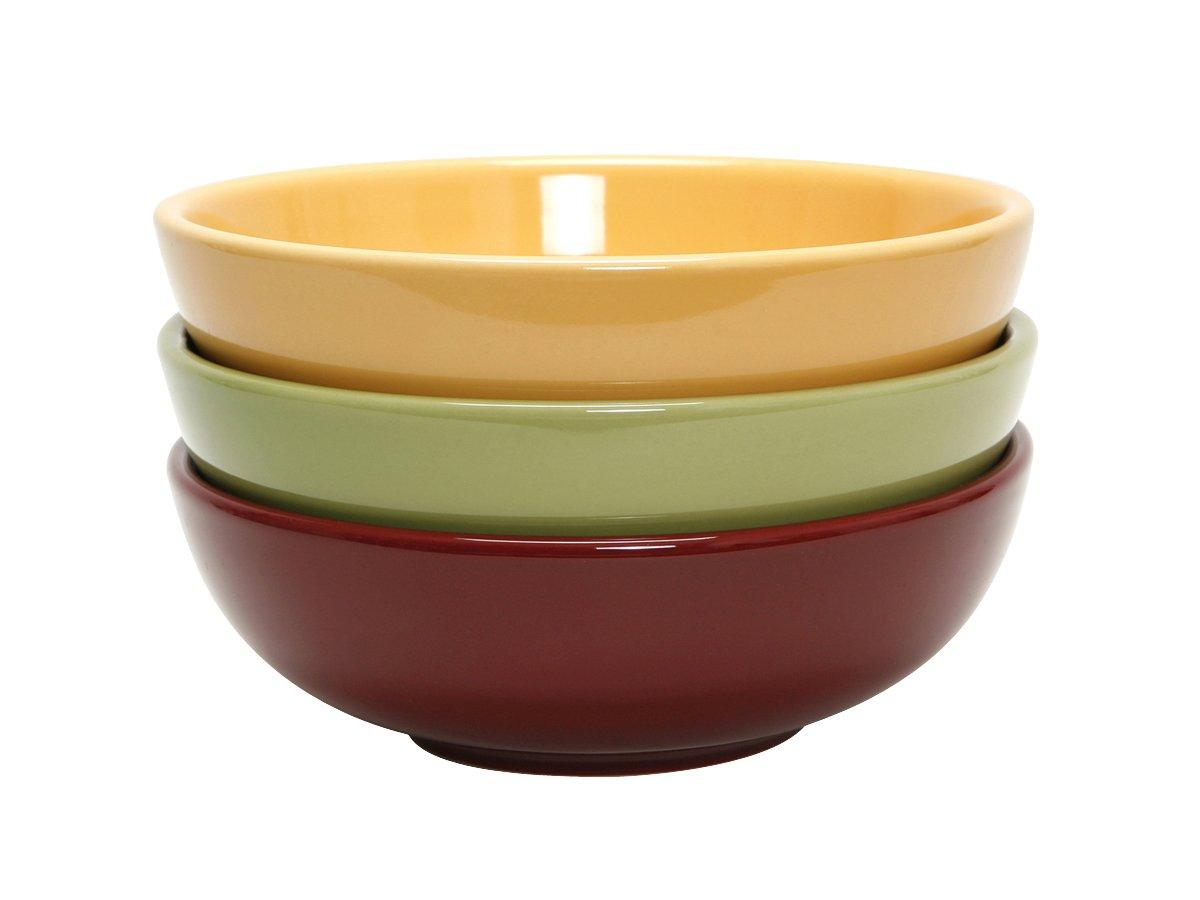 Tuxton DYB-480G Vitrified China Menudo/Salad Bowl, 48 oz, 8-3/8