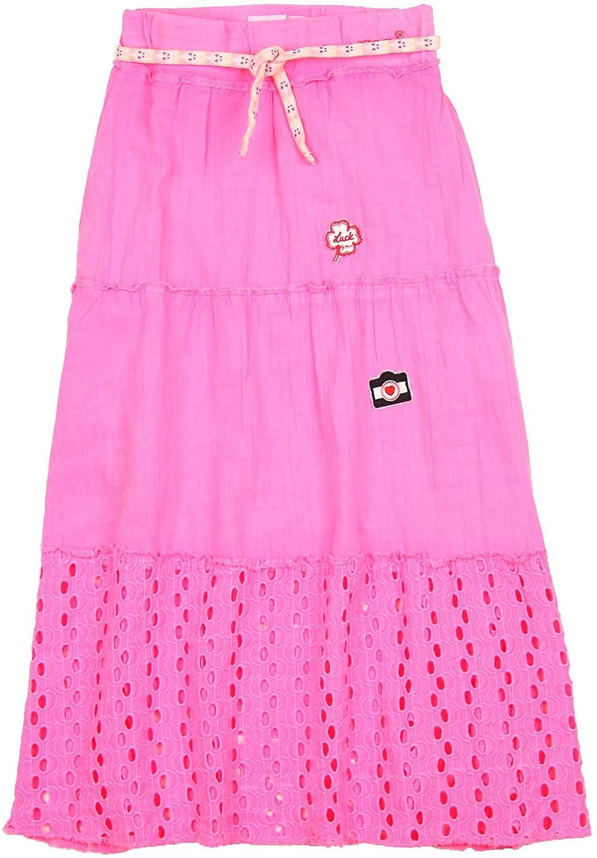 no!no! NONO Girl's Maxi Skirt with Eyelet, Sizes 6-16