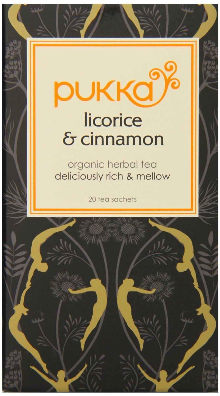 Pukka Licorice & Cinnamon Tea 20 per pack - Pack of 2
