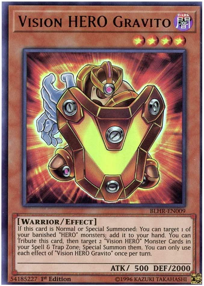 x3 Vision Hero gravito BLHR-EN009 Ultra 1st Edition