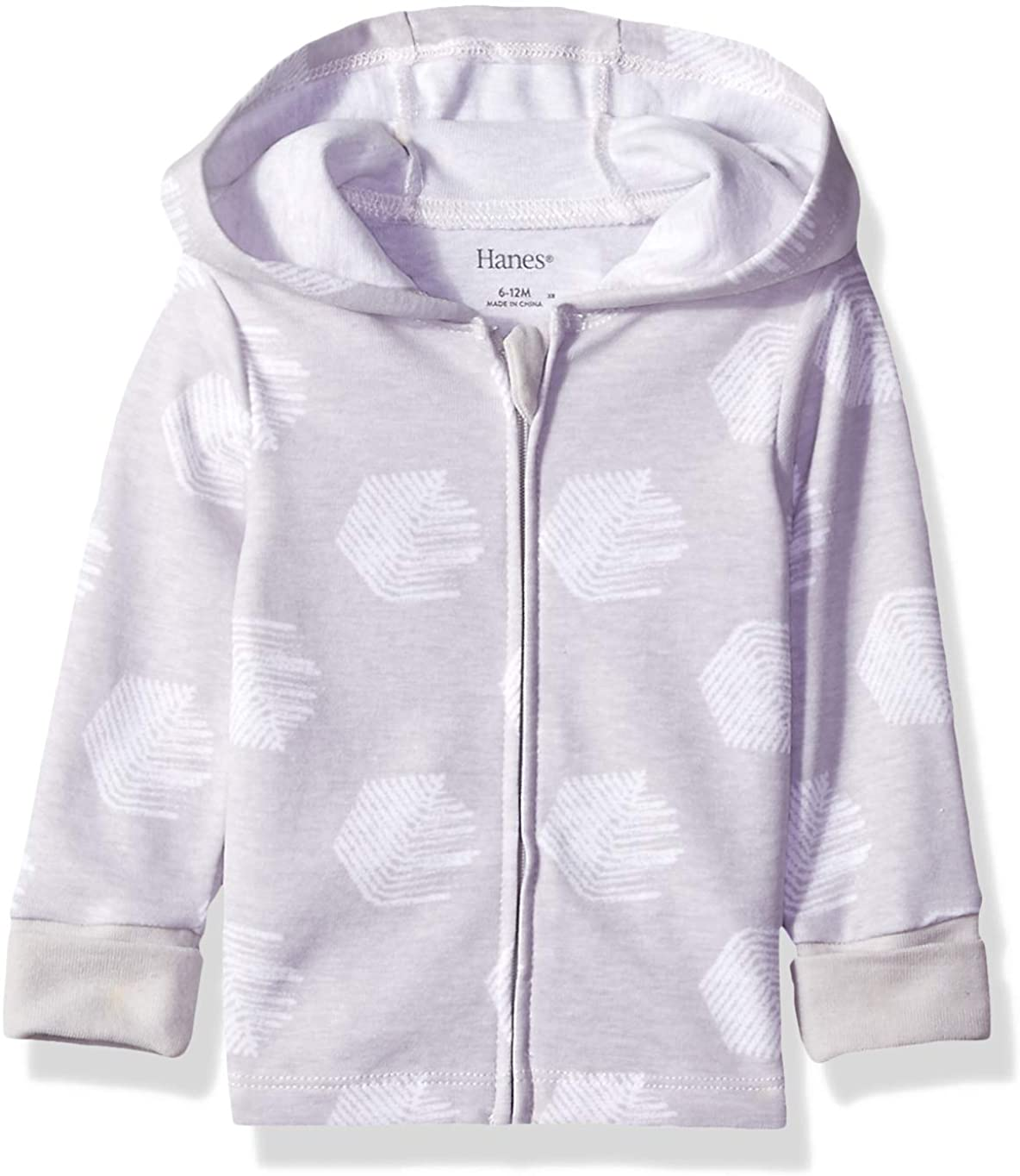 Hanes Girls' Ultimate Baby Zippin Knit Hoodie