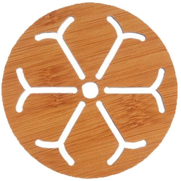 George Jimmy Wooden Cartoon Potholder Table Mat Non-Slip Pad Coaster 4 PCS- A2