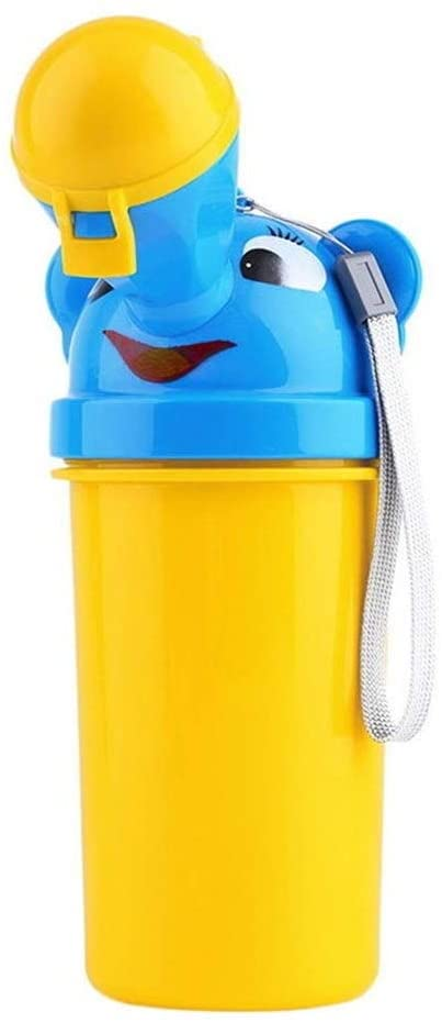 Portable Convenient Travel Cute Baby Urinal Kids Potty Girl Boy Car Toilet Vehicular Urinal Traveling Urination Comfortable Fast Seal Does Not Overflow (Color : for Boys)