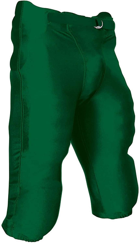 CHAMPRO Adult Terminator Integrated Football Pants Forest Green Medium