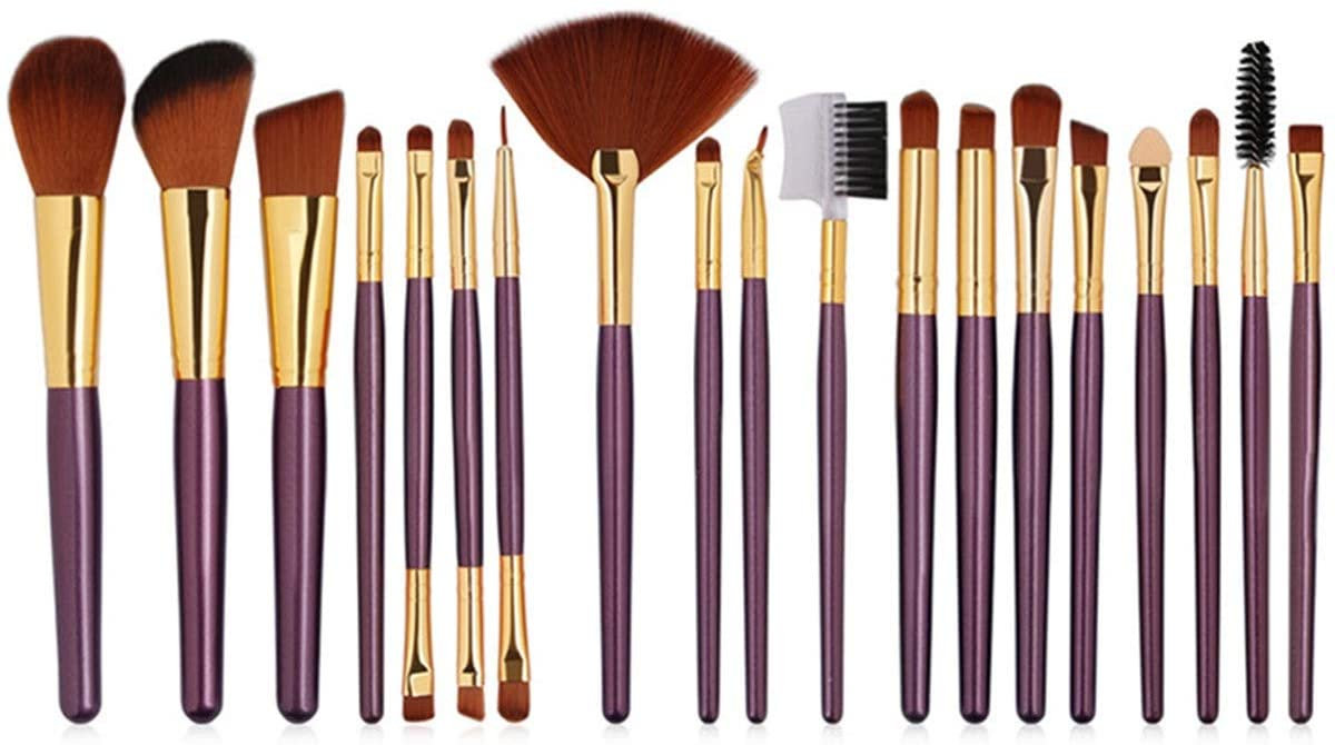 zZZ ZXZ Beginner 19 Pcs Makeup Brush Set Brush Makeup Tools Beauty Makeup Brush Brush Red Set Brush Feel Soft, Strong Affinity, Strong Grip, Soft Color, Suitable for Facial Contours Beautiful