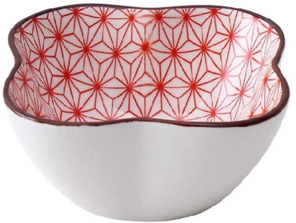 JLXZHOME Ceramic Dish Household Tableware Sauce Dish Small Plate Seasoning Dish 4Pcs Creative Table Decoration,K