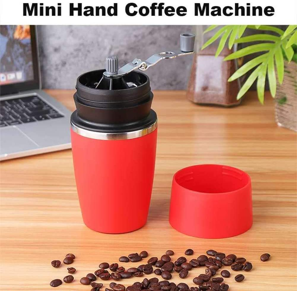MDHANBK Manual Coffee Grinder Manual Pressure Portable Espresso Machine