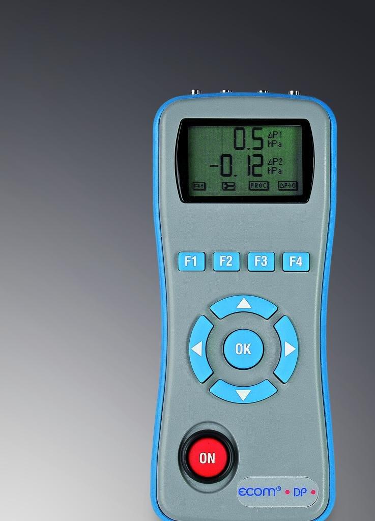 ecom-DP Pressure Measurement, 1 Sensor +/- 0-1500 hPa