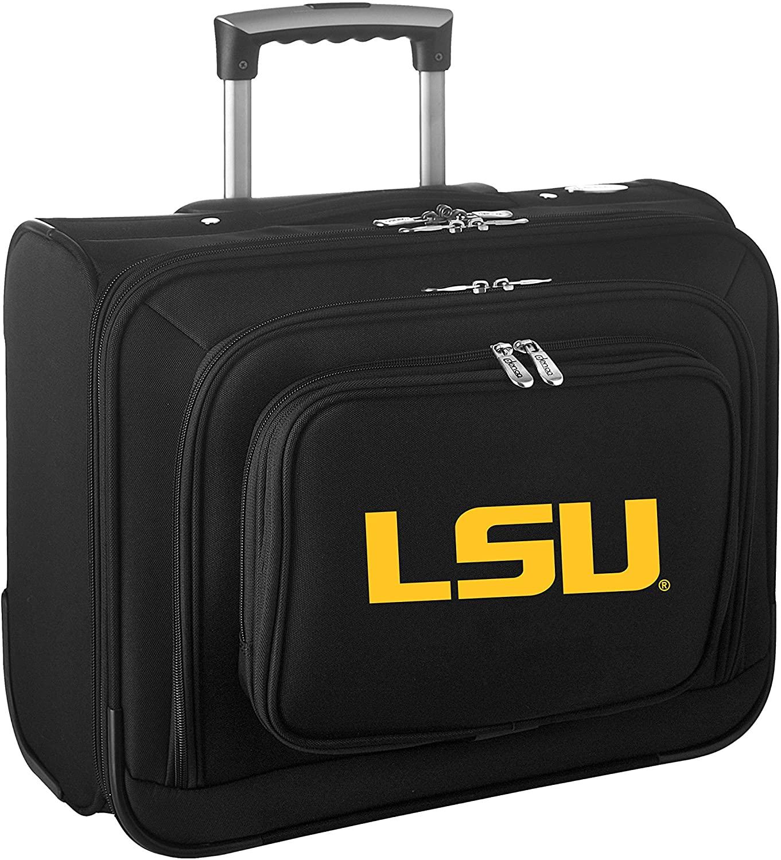 Denco NCAA LSU Tigers Wheeled Laptop Overnighter