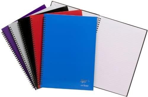 Pack of 5 Twinwire A4 150 Sheet Feint NoteBooks