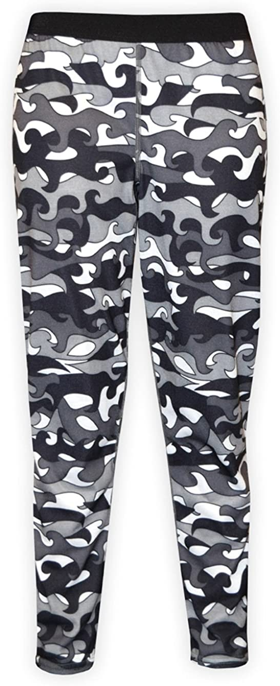 Hot Chillys Youth Pepper Skins Bottom, Surf Day, Large
