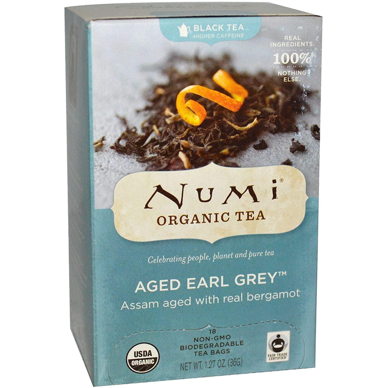 Numi Teas Tea Blck Earl Grey Bergamot As