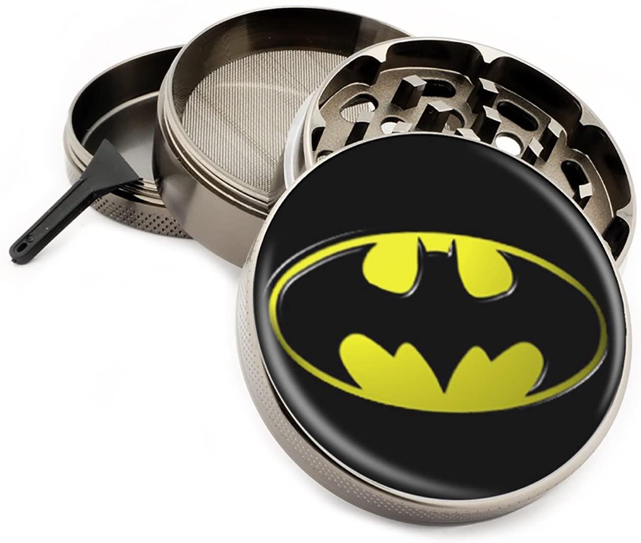 Star Wars & Superhero Themed 4 Layer Herb Grinders with Bonus Scraper (Batman)
