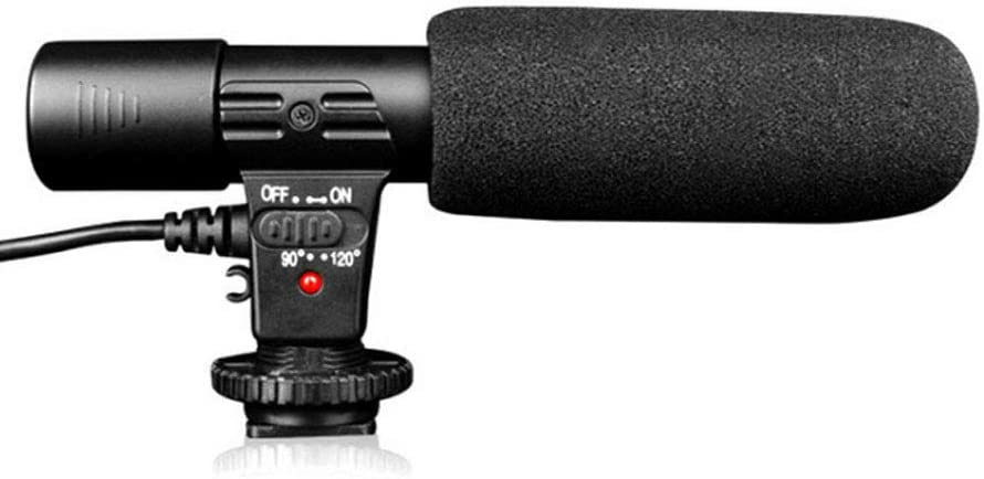 No Band MIC-01 DV Professional Recording Microphone, Video Microphone with Type-C Patch Cord, Camera Microphone for SLR Camera, Camcorder, DV, Computer, Projector, Recording Pen, Gopro Sports Camera