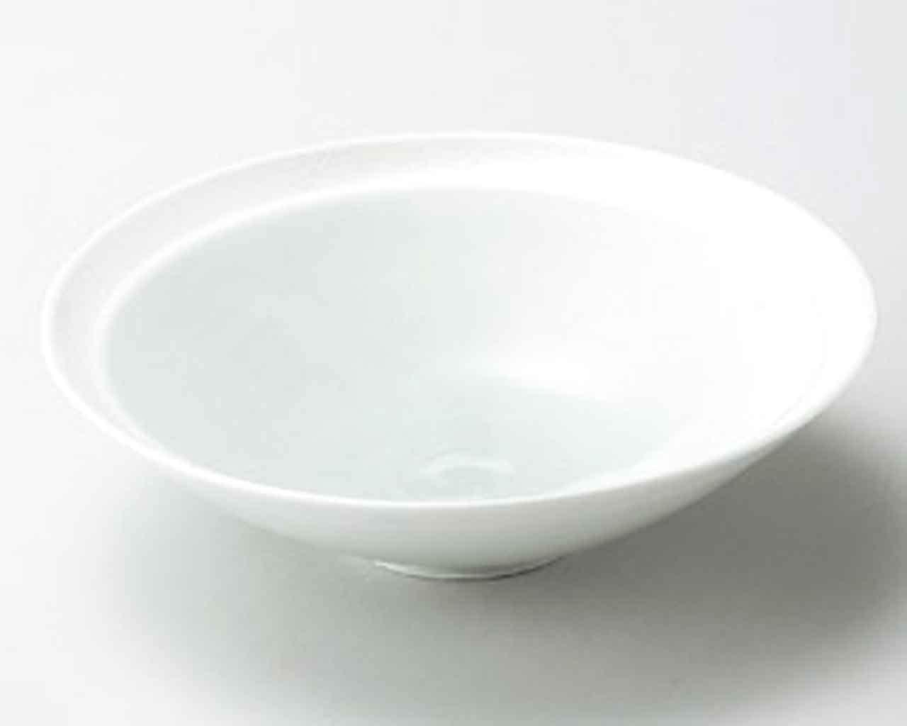 Hiwa Green Blow 6.5inch Set of 2 Medium Plates White porcelain Made in Japan