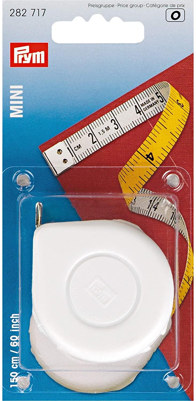 Prym 282717 Spring tape measure Mini 150 cm 60 inch