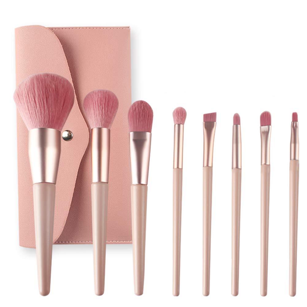 Makeup Brush Set, Premium Synthetic Brushes for Foundation Blending Blush Concealer Face Eyes Shadow Eyeliner, Cruelty-Free Synthetic Fiber Bristles