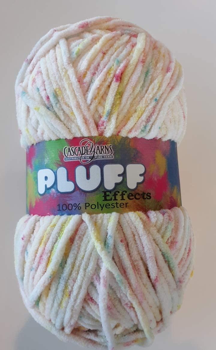 Cascade Yarns Pluff Effects #105 Candy