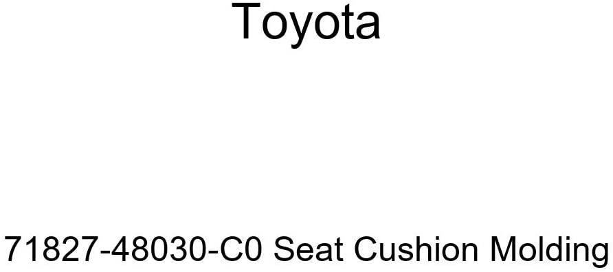TOYOTA Genuine 71827-48030-C0 Seat Cushion Molding
