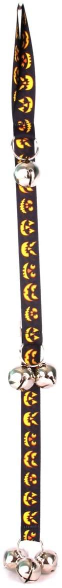 Yellow Dog Design Ding Dog Bell, Jack O' Lantern