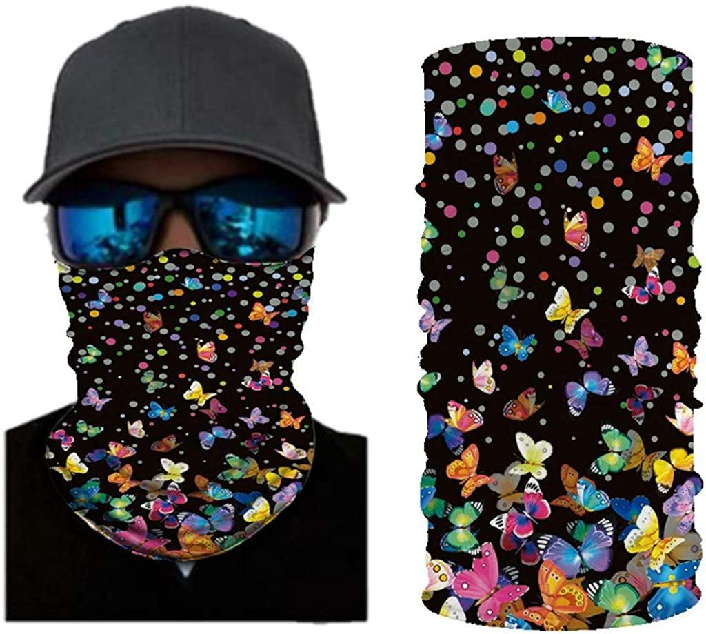 Sunnyys Unisex Multifunctional Protective Bandanas for Outdoor Sports Dust Bandanas Bandana SS-0709A136
