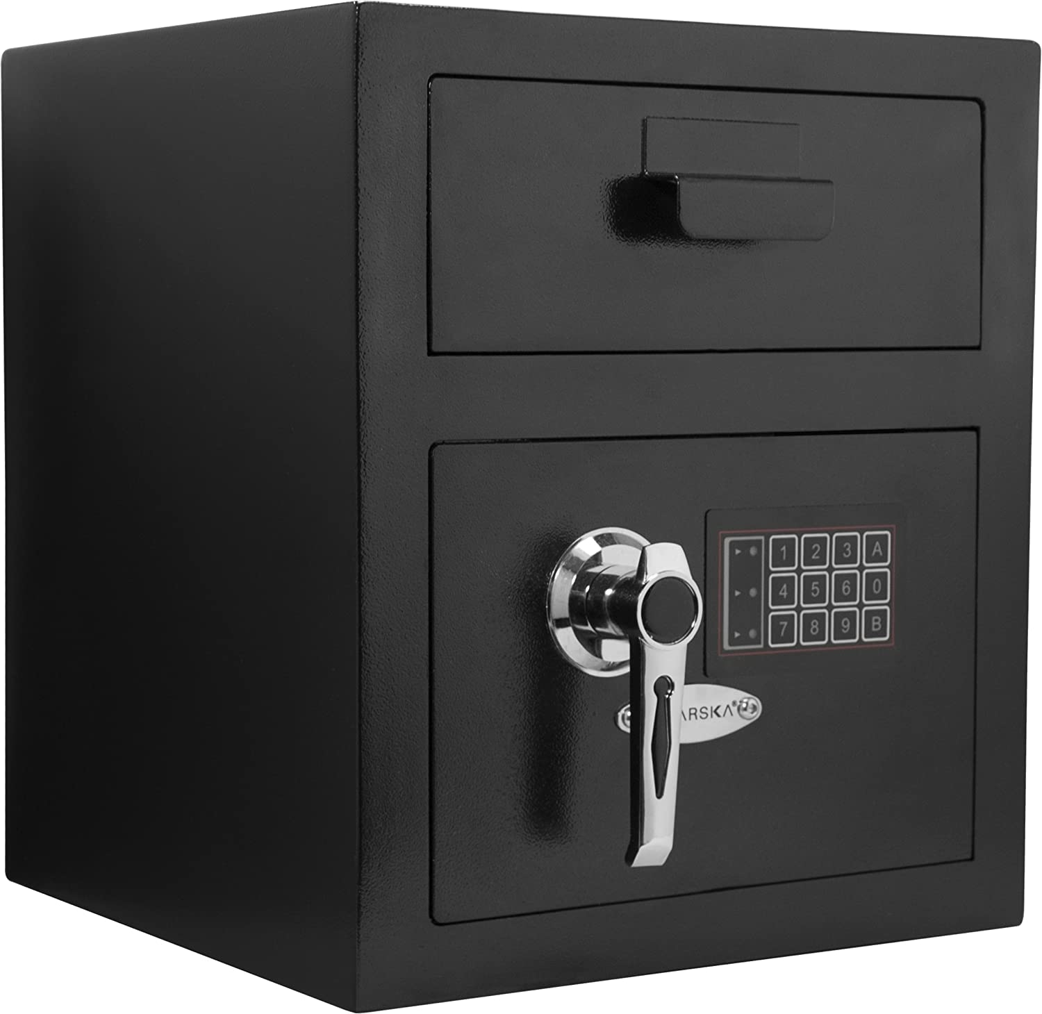 Barska AX11932 Standard Keypad Security Depository Drop Safe 0.72 Cubic Ft