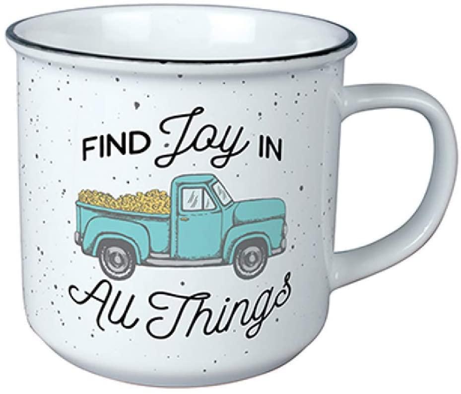 Carson 13-ounce Find Joy Vintage Mug