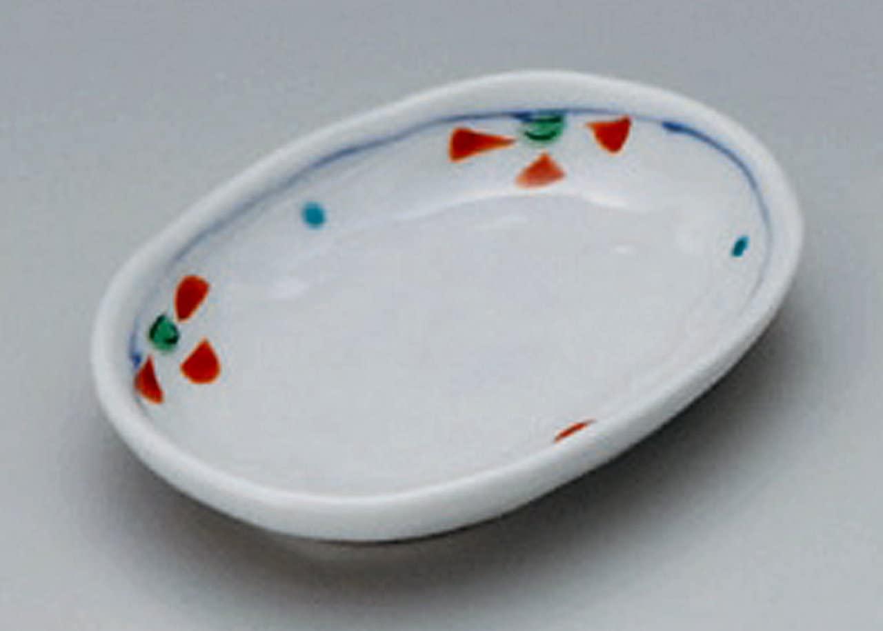 WARIHANA-HAND-PAINT Jiki Japanese Porcelain Small Plate