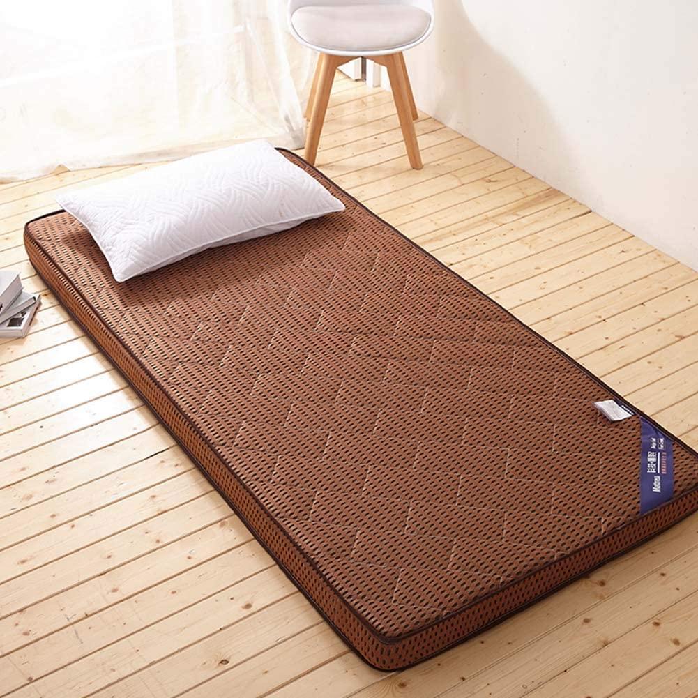 CTYfuton Premium Mattress Pad,Thicken Tatami Traditional Japanese Floor Futon Mattress Mat,Collapsible Soft Bed Roll Mattress Topper for Dormitory-c 100x200cm(39x79inch)