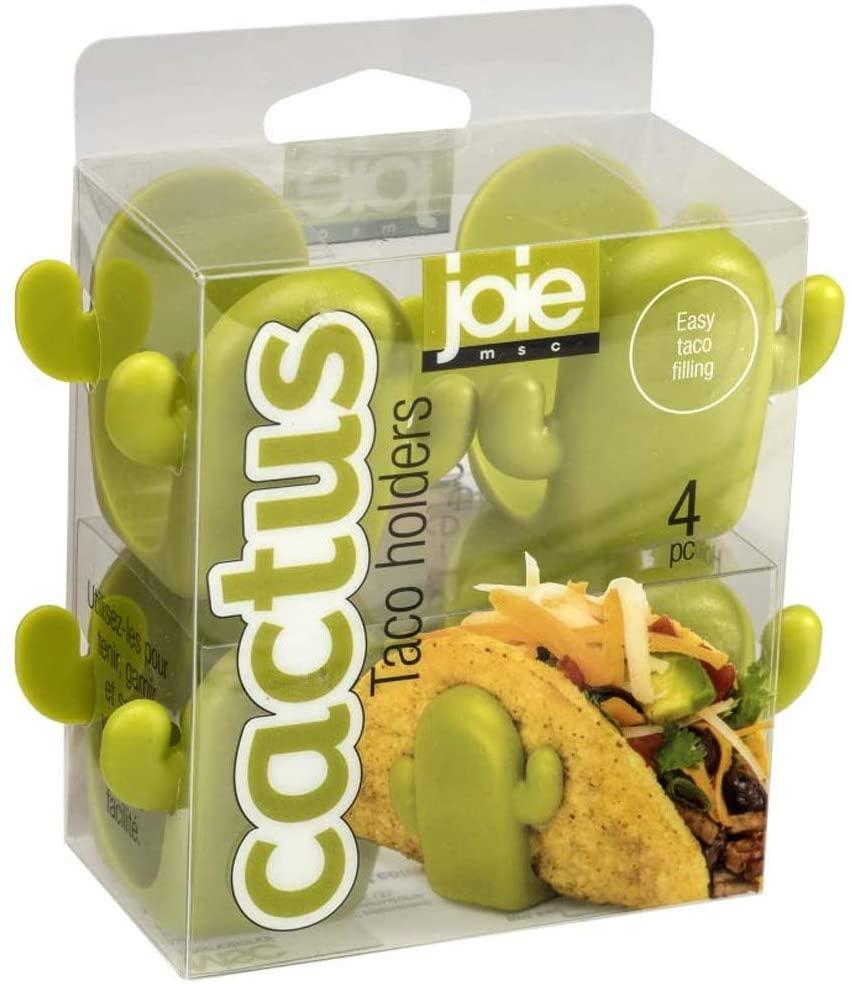 MSC International 52034 Joie Cactus Taco Holders, Green, One Size, Greeb