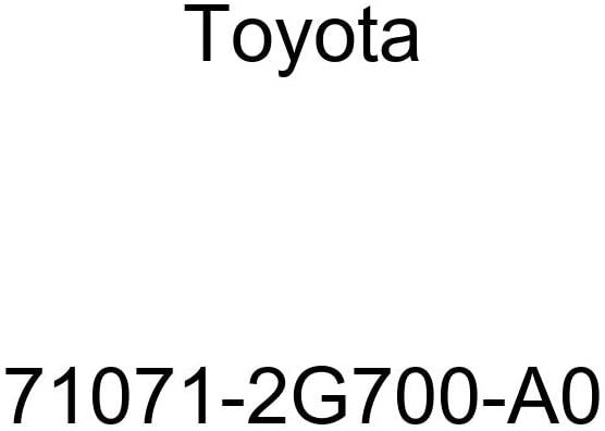 TOYOTA Genuine 71071-2G700-A0 Seat Cushion Cover