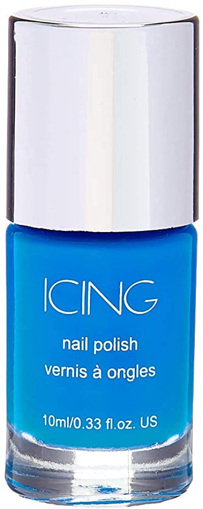 Icing Women's Solid Nail Polish - Neon Blue