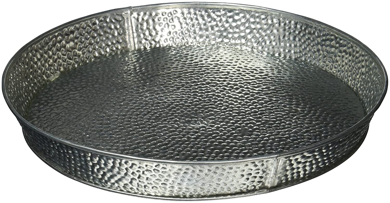 TableCraft Products GP10 Dinner Platter Galvanized, 10.5