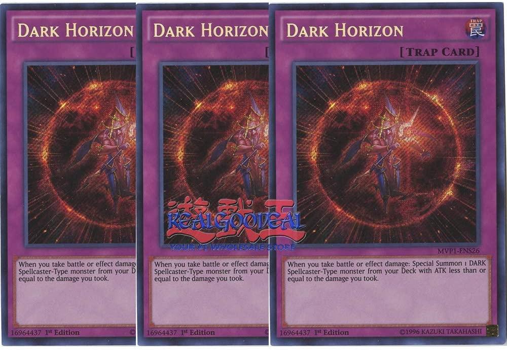 x3 Dark Horizon - MVP1-ENS26 - Secret Rare - 1st Edition