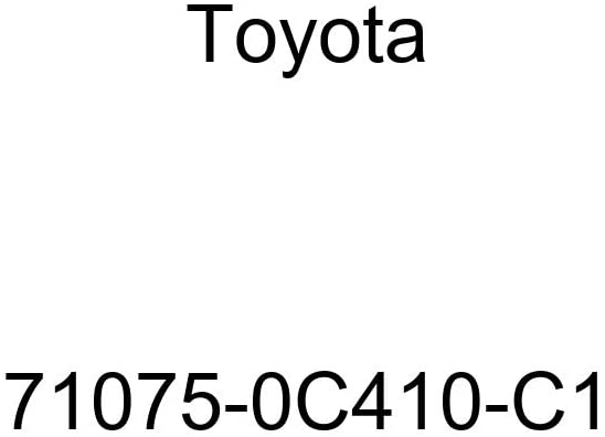 TOYOTA Genuine 71075-0C410-C1 Seat Cushion Cover