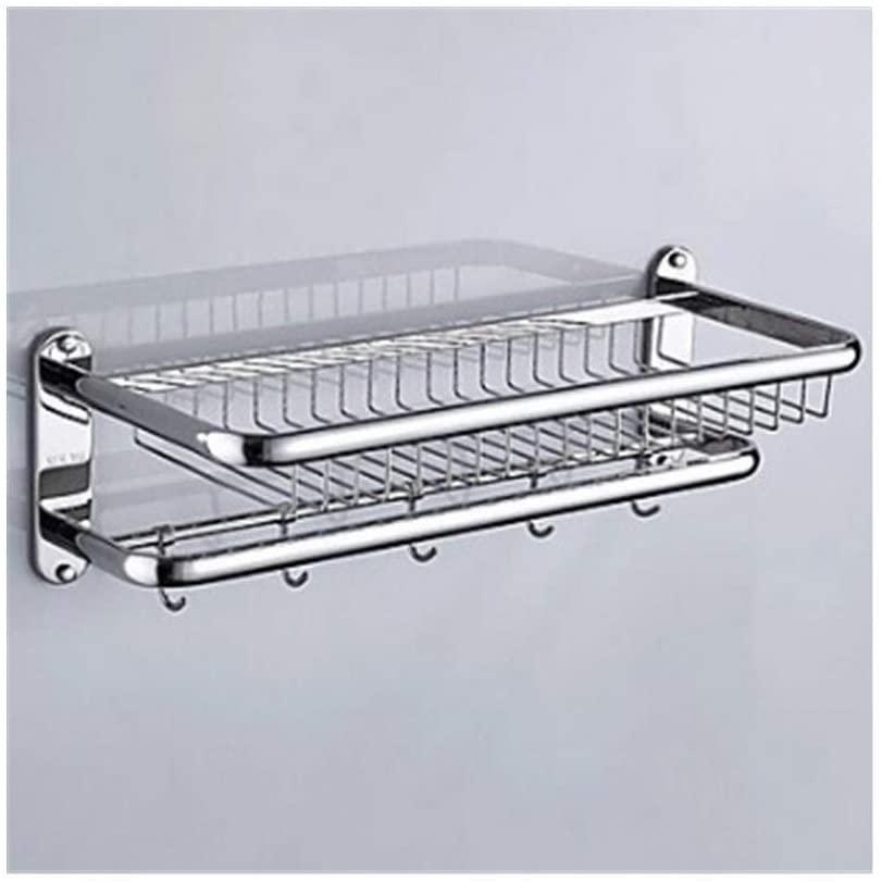 Happy shopping Bathroom Shelves Bathroom Shelf Cool Modern Stainless Steel/Iron/Metal 1pc Single Wall Mounted