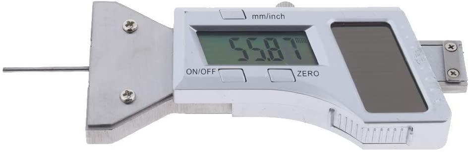 LL-LL Car Solar Digital Tyre Tire Tread Depth Gauge Measurer Caliper LCD 0-25mm Calipers