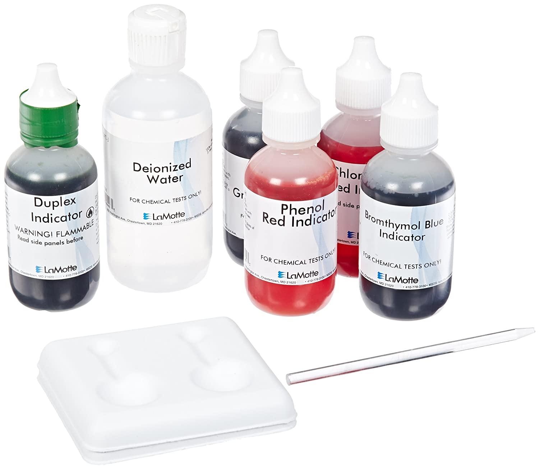 LaMotte 5023-01 Model Morgan ST-M Soil pH Test Kit, 3.8-8.4 pH