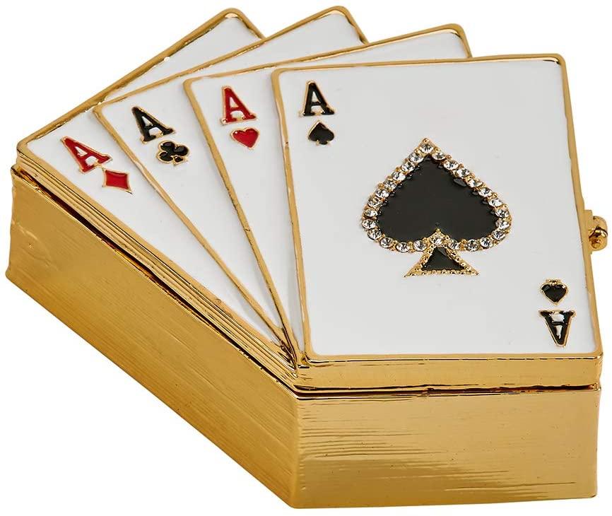 Playing Cards Trinket Box