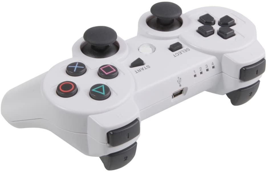 Hot Sale Wireless Bluetooth Game Controller for Sony Ps3 Playstation 3 White
