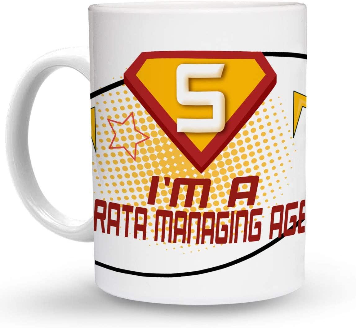 Makoroni - I'M A STRATA MANAGING AGENT Career 6 oz Ceramic Espresso Shot Mug/Cup Design#27
