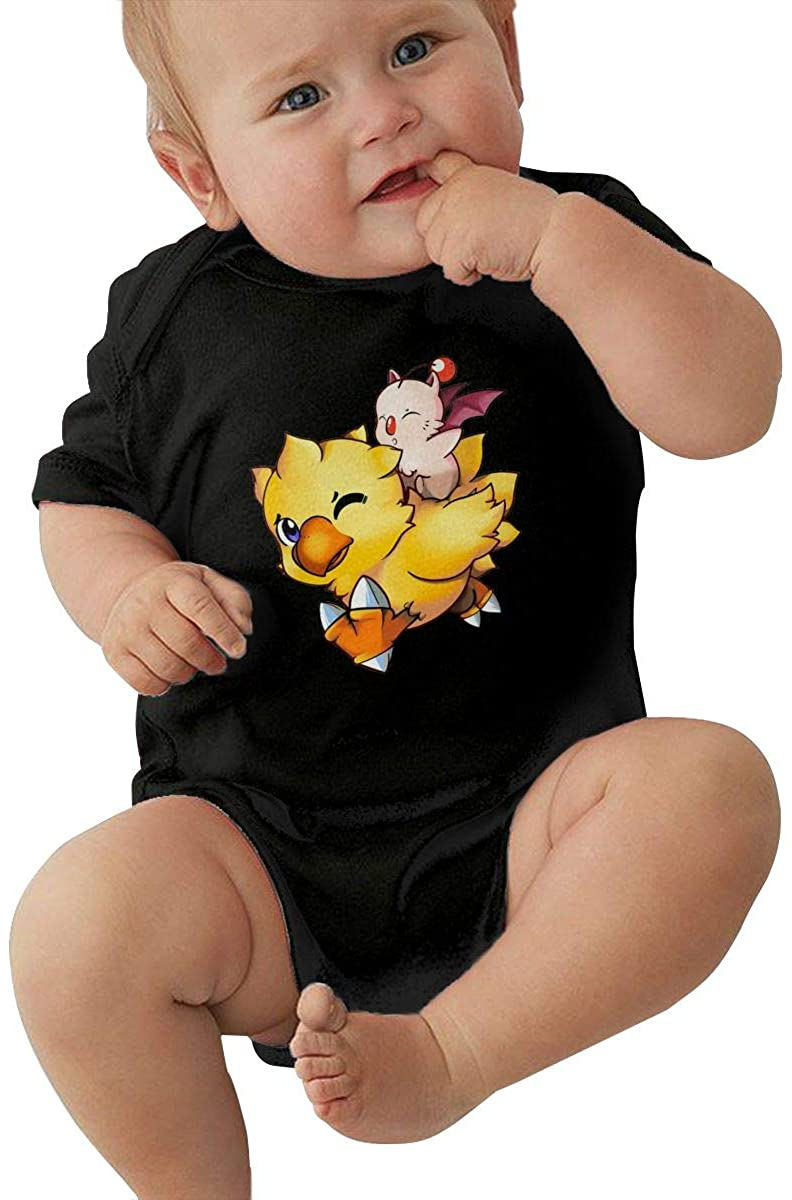 Final Fantasy Mog and Chocobo Baby Romper Humorous Baby Baby Suit