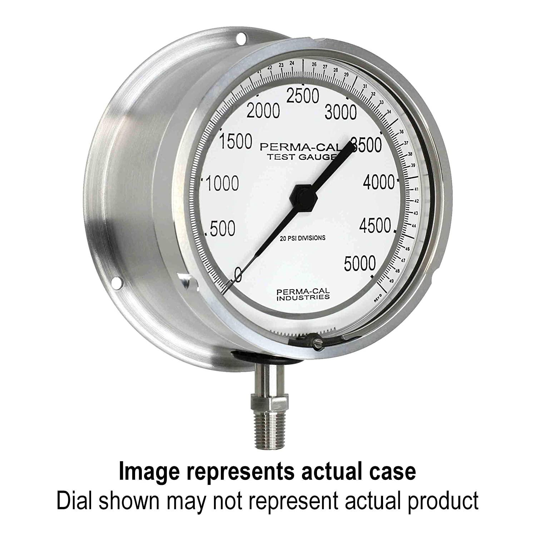 Pressure Gauge, Military Grade, Gearless, Test, 0-160 psi, 4.5