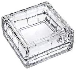 Studio Siversmiths Monogrammed Fine Crystal Covered Jewelry Box Candy Dish- C