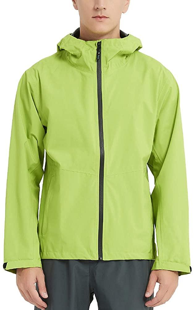 TOKY Raincoat Golf Jacket for Man Rainwear Windbreaker Light Waterproof Shell