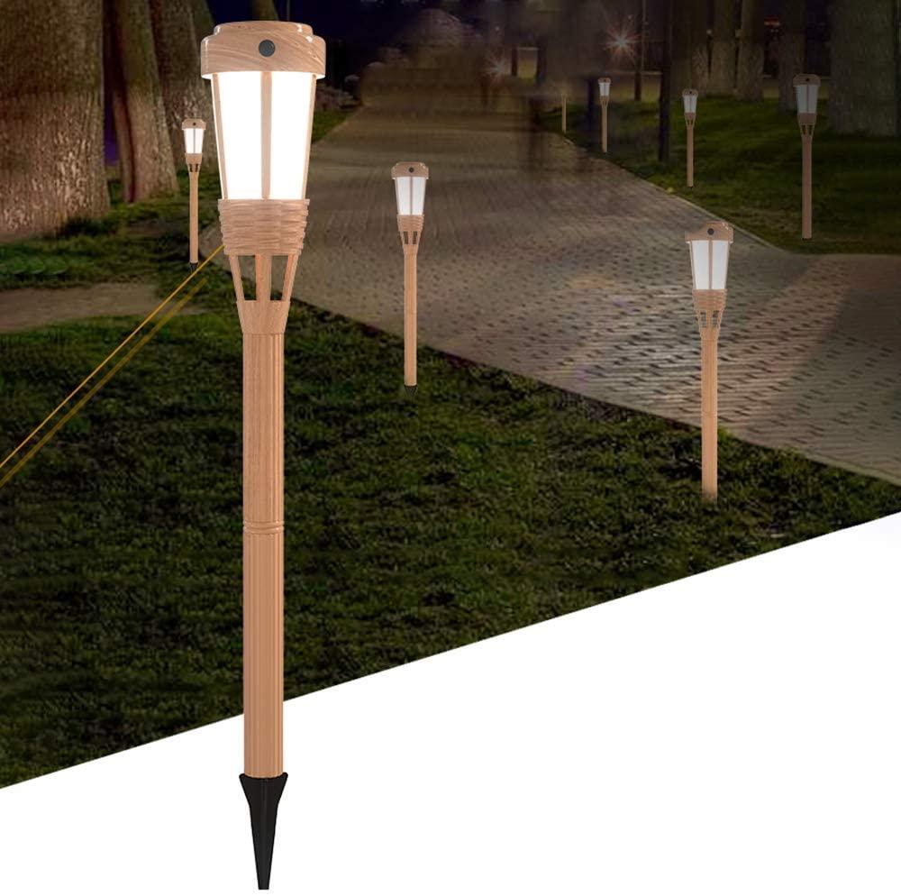 XINLANYU Solar Torch Light Outdoor Decorative,3 Model Flickering Flame Super Bright Garden Light,Waterproof Decoration Lights for Patio Driveway Backyard Pool Yard