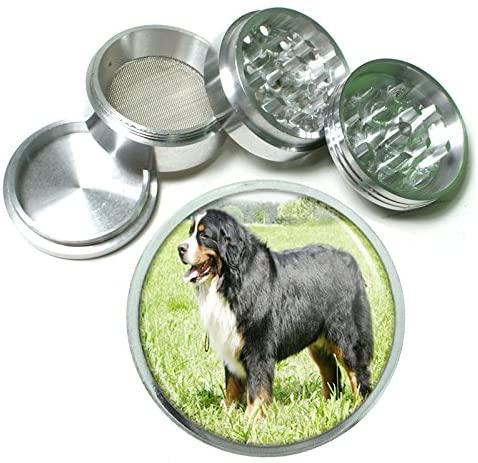 Dog bernese mountain dog 4Pc Aluminum Grinder